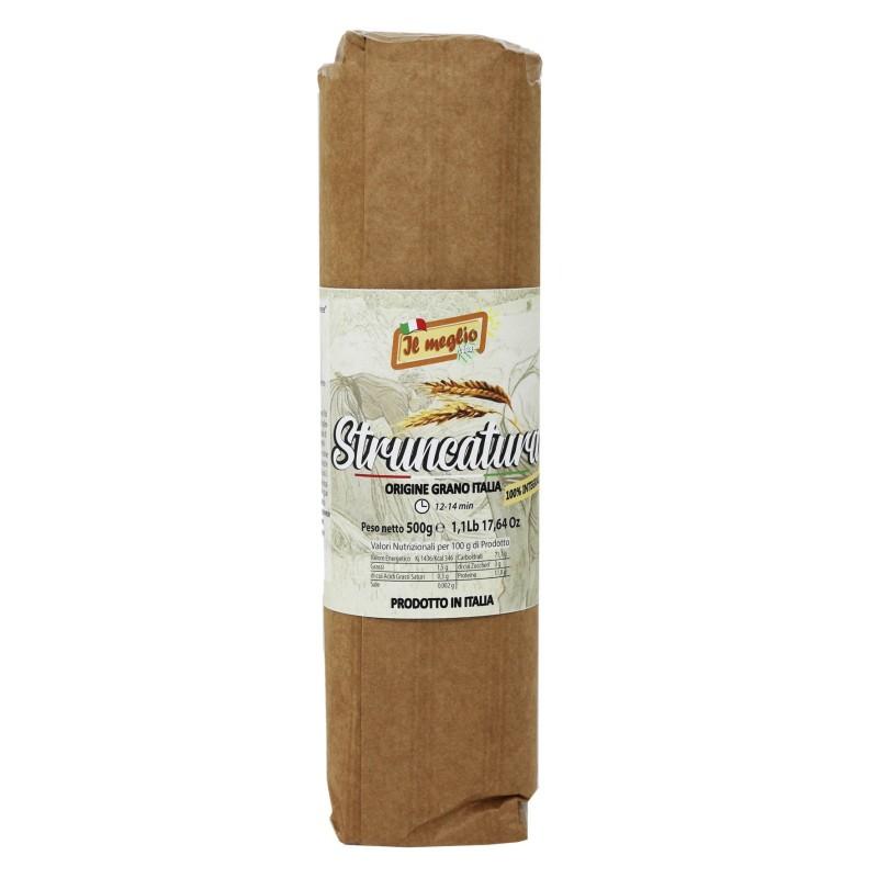 Pasta secca Struncatura Antica Ricetta in carta 500 g Prodoti Tipici Calabresi Bottega Lombardo Srl