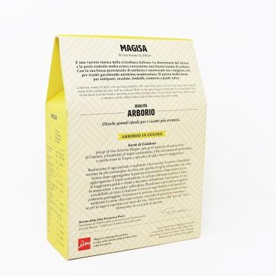 Riso Calabrese di Sibari Arborio da 500 g - Magisa Prodoti Tipici Calabresi Bottega Lombardo Srl