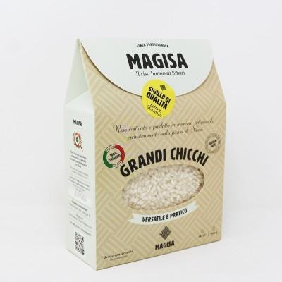 Riso Calabrese di Sibari Grandi Chicchi da 500 g - Magisa Prodoti Tipici Calabresi Bottega Lombardo Srl