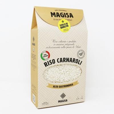 Riso Calabrese di Sibari Carnaroli da 1000 g - Magisa Prodoti Tipici Calabresi Bottega Lombardo Srl