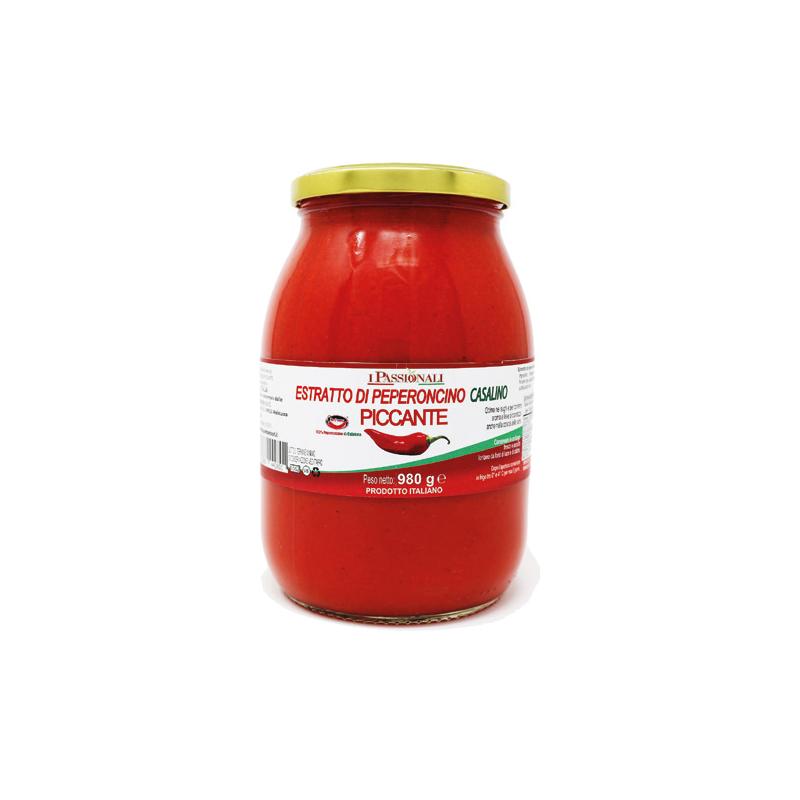 Estratto peperoncino piccante di Calabria Prodoti Tipici Calabresi Bottega Lombardo Srl