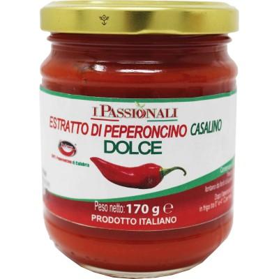 Salsa di peperoncino dolce di Calabria Melicucco Prodoti Tipici Calabresi Bottega Lombardo Srl