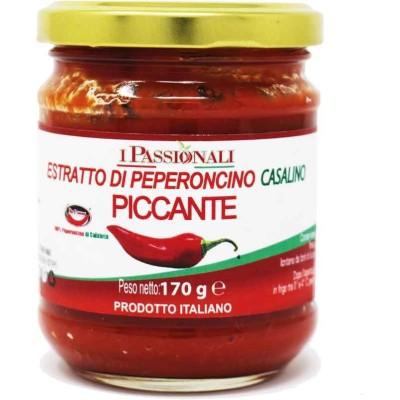 Salsa di peperoncino piccante di Calabria Melicucco Prodoti Tipici Calabresi Bottega Lombardo Srl