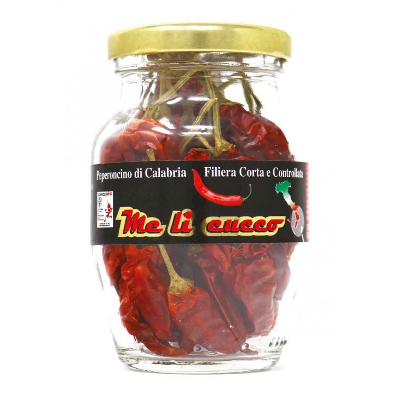 Peperoncino di Calabria frutto intero 20g (vasetto) Prodoti Tipici Calabresi Bottega Lombardo Srl