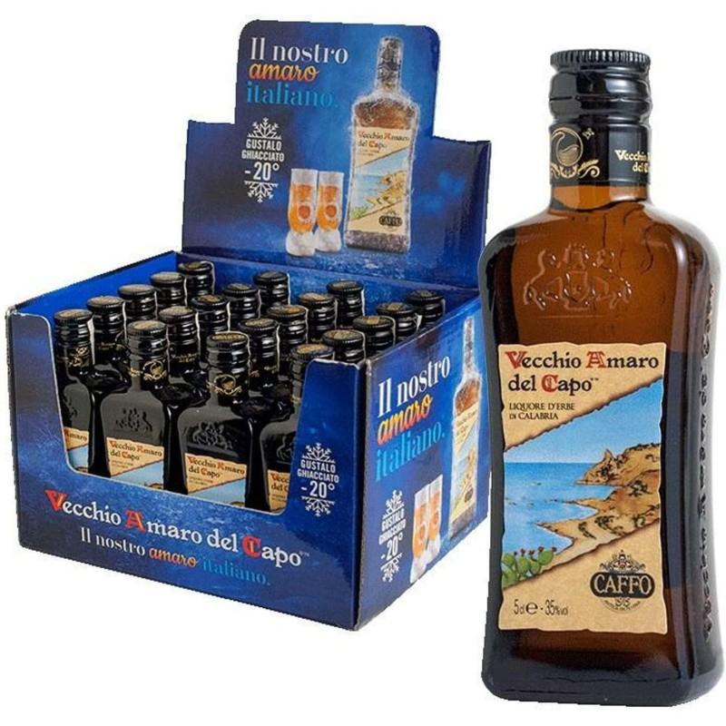 Liquore Vecchio Amaro del Capo Mignon 5 cl 35% vol Prodoti Tipici Calabresi Bottega Lombardo Srl