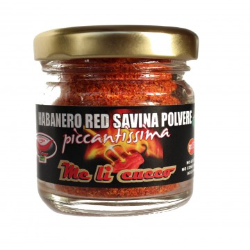 Peperoncino Habanero Red Savina 15g (vasetto) Prodoti Tipici Calabresi Bottega Lombardo Srl