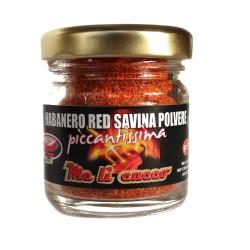Peperoncino Habanero Red Savina 15g (vasetto)