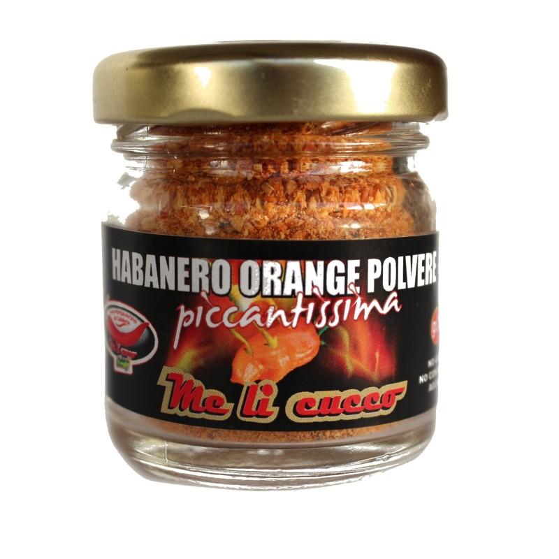 Peperoncino Habanero Orange 15g (vasetto) Prodoti Tipici Calabresi Bottega Lombardo Srl