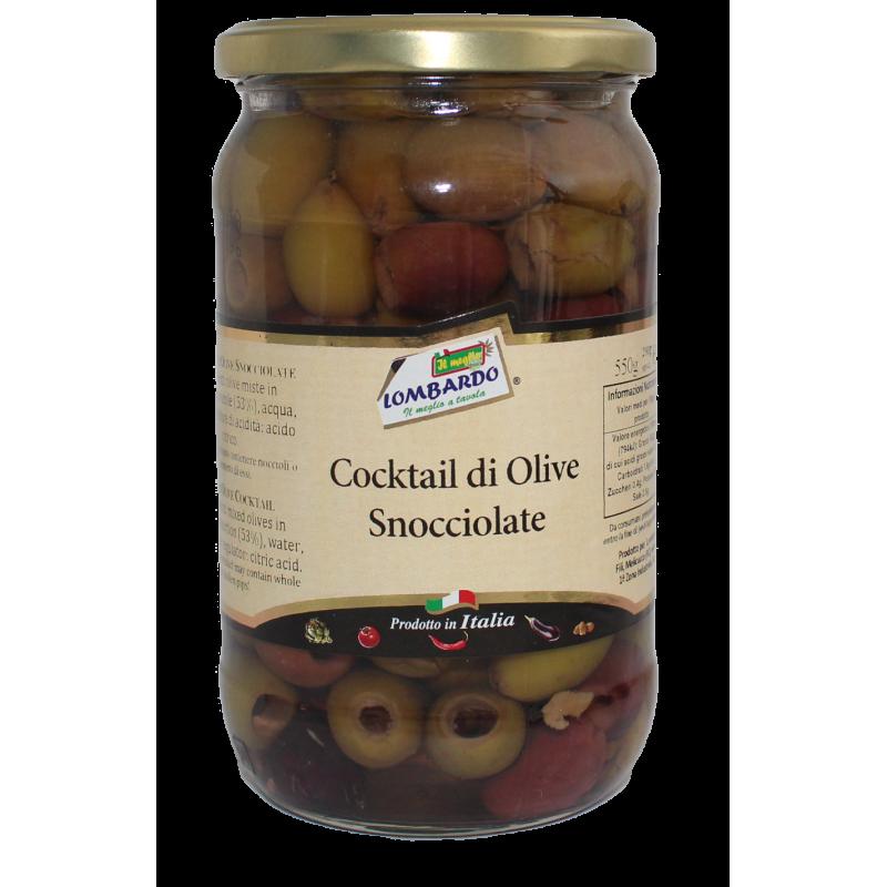 Cocktail di olive snocciolate (vaso) Prodoti Tipici Calabresi Bottega Lombardo Srl