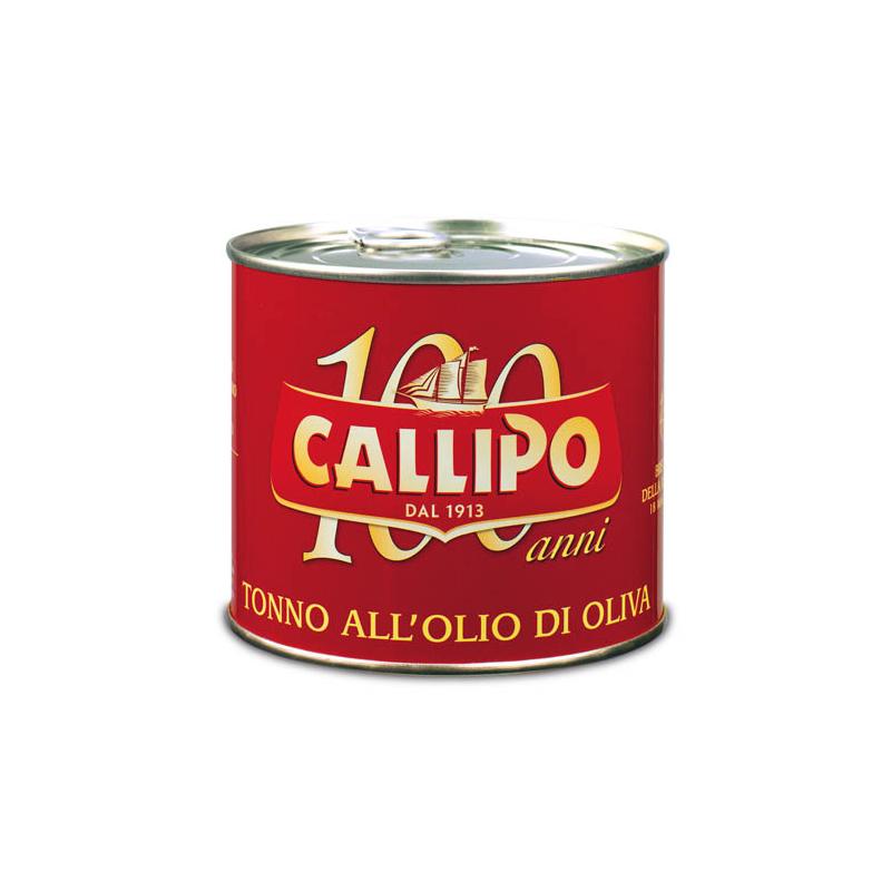 Tonno in olio d'oliva gusto da re lattina gr. 620 - prodotti tipici calabresi - bottega lombardo srl