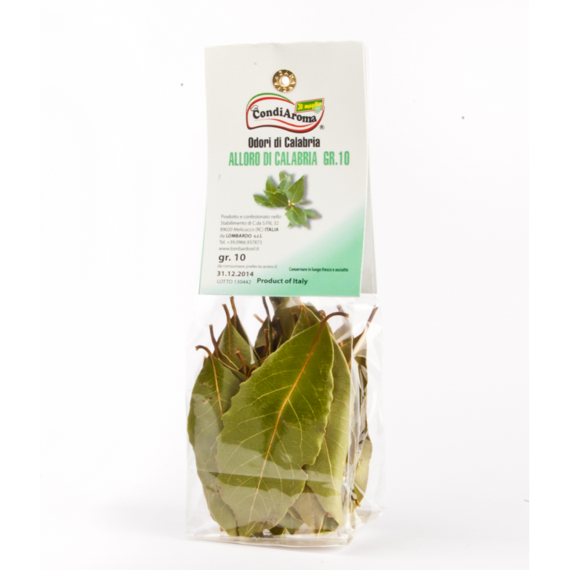 Alloro (sacchetto) 10 g Prodoti Tipici Calabresi Bottega Lombardo Srl