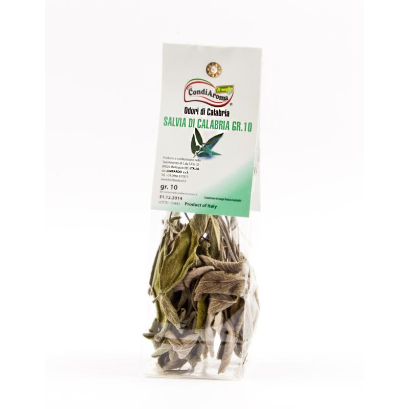Salvia (sacchetto) 10 g - prodotti tipici calabresi - bottega lombardo srl