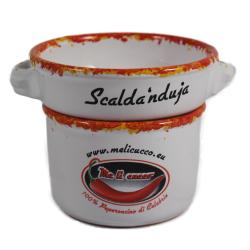 Scalda Nduja in ceramica - Idea Regalo Prodoti Tipici Calabresi Bottega Lombardo Srl
