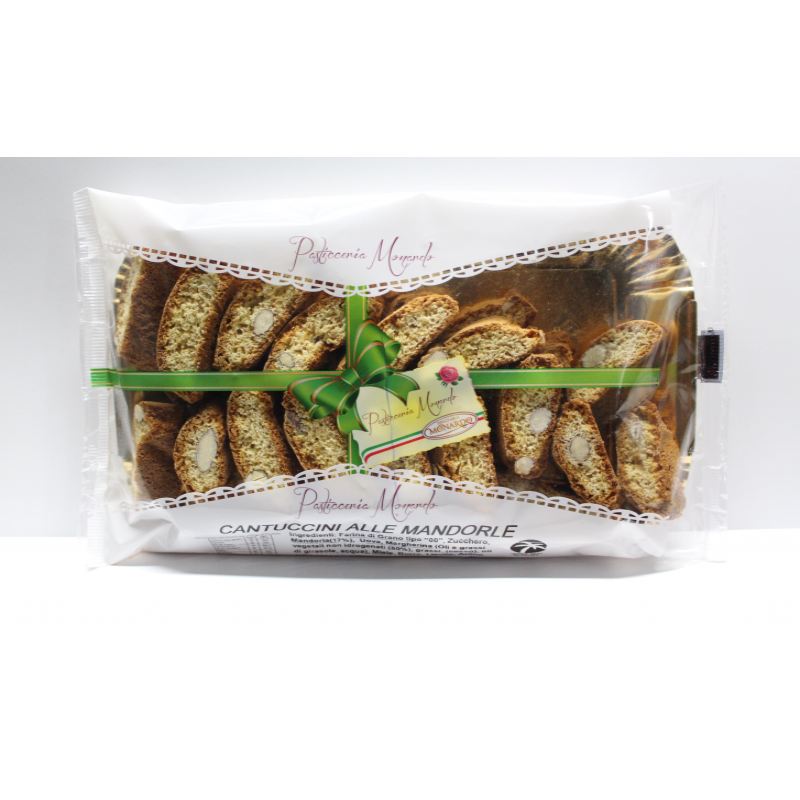 Cantucci alle Mandorle - prodotti tipici calabresi - bottega lombardo srl