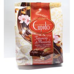 Torroncini alle mandorle e cioccolato