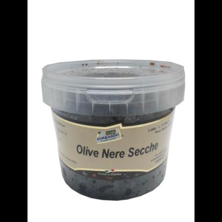 Olive nere secche secchiello 500 g