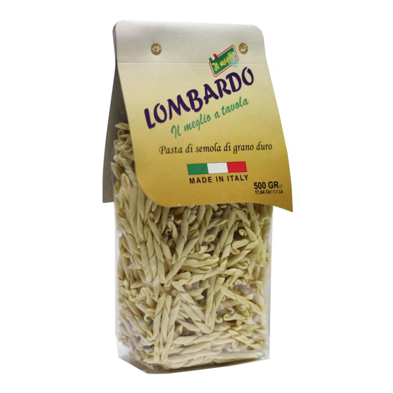 Pasta secca Strozzapreti Calabresi 500 g Prodoti Tipici Calabresi Bottega Lombardo Srl