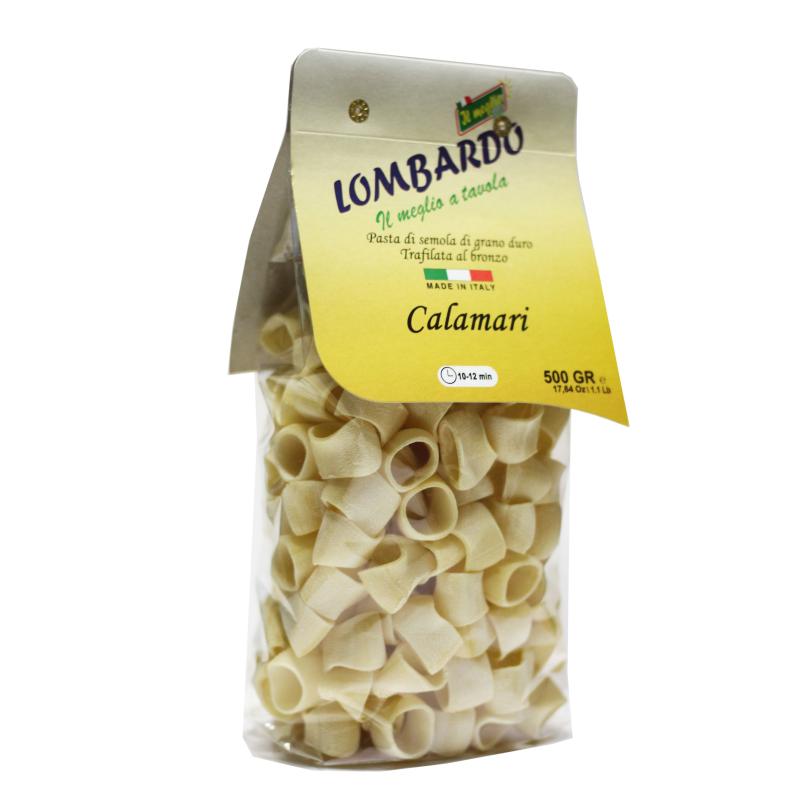 Pasta Secca Calamari Calabresi - prodotti tipici calabresi - bottega lombardo srl