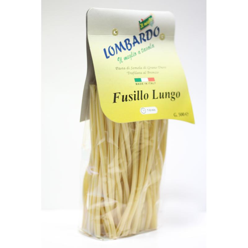 Pasta secca Fusillo lungo 500 g Prodoti Tipici Calabresi Bottega Lombardo Srl