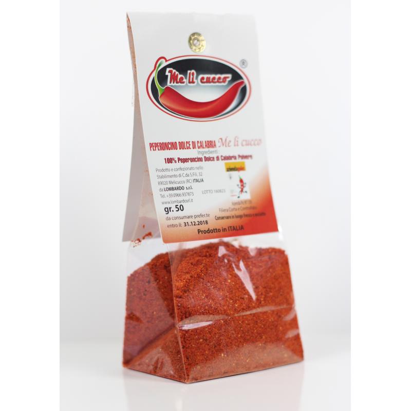 Peperoncino di Calabria in polvere (sacchetto) Prodoti Tipici Calabresi Bottega Lombardo Srl