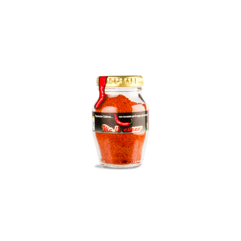 Peperoncino di Calabria polvere 60g vasetto Prodoti Tipici Calabresi Bottega Lombardo Srl