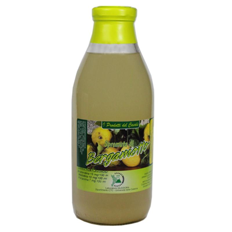 Succo al bergamotto zuccherato 750 ml - prodotti tipici calabresi - bottega lombardo srl