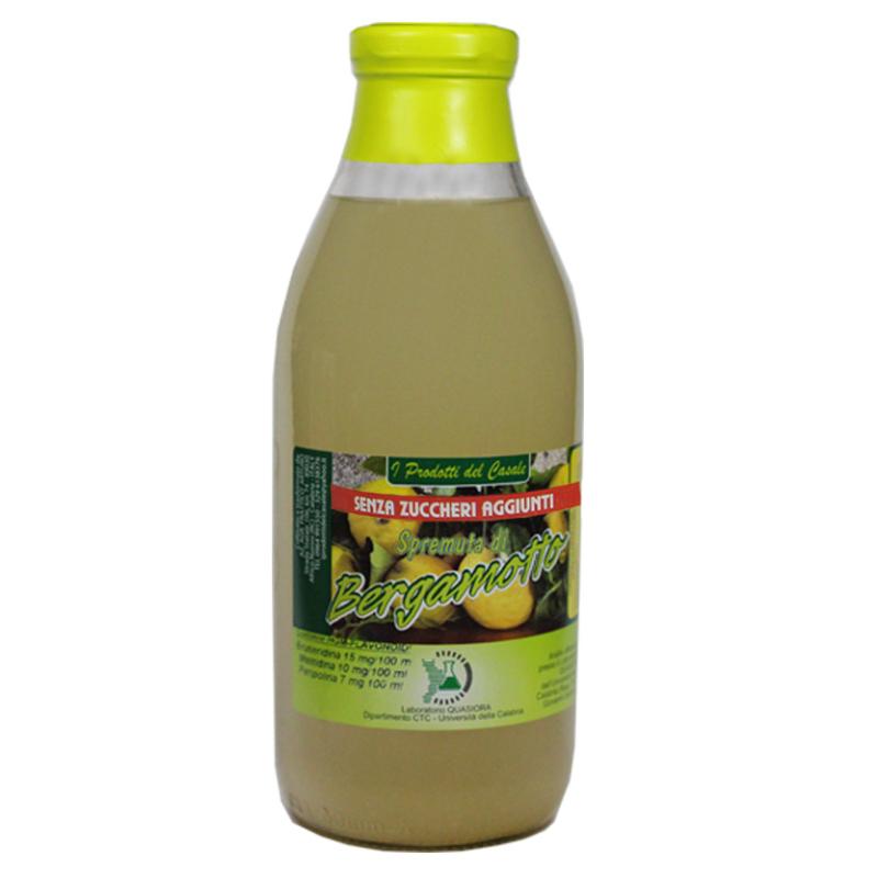 Succo al bergamotto senza zucchero 750 ml - prodotti tipici calabresi - bottega lombardo srl