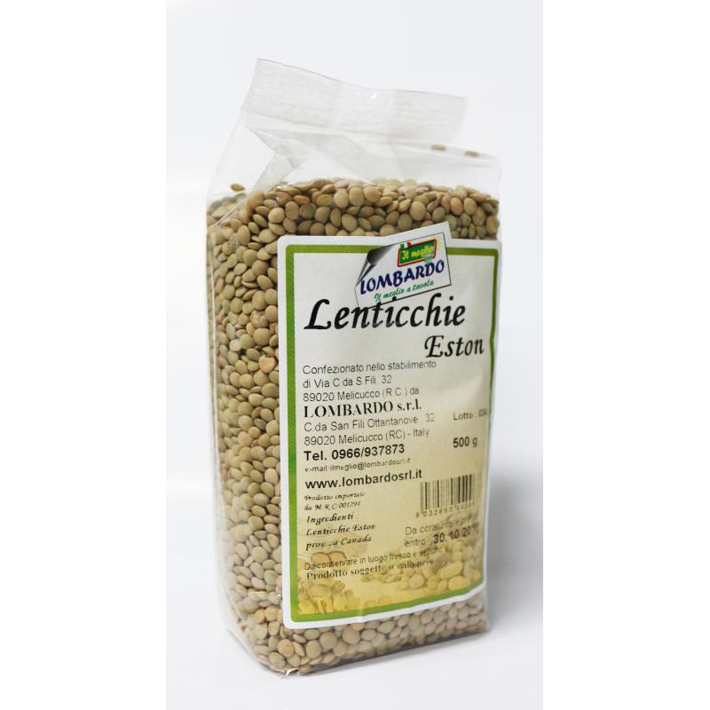 Lenticchie Eston - prodotti tipici calabresi - bottega lombardo srl