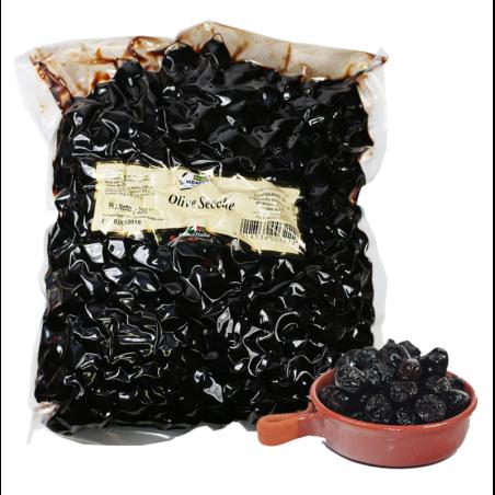 Olive nere secche large