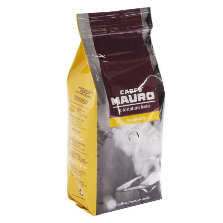Caffè mauro classico a tostatura lenta in grani 500 g