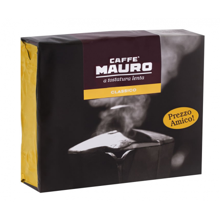 Caffè mauro classico a tostatura lenta macinato 250 g x 2