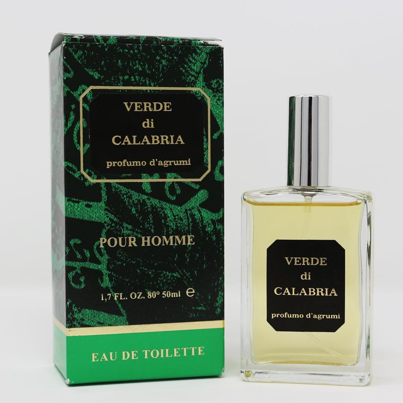 Profumo Verde di Calabria pour homme 50 ml Prodoti Tipici Calabresi Bottega Lombardo Srl