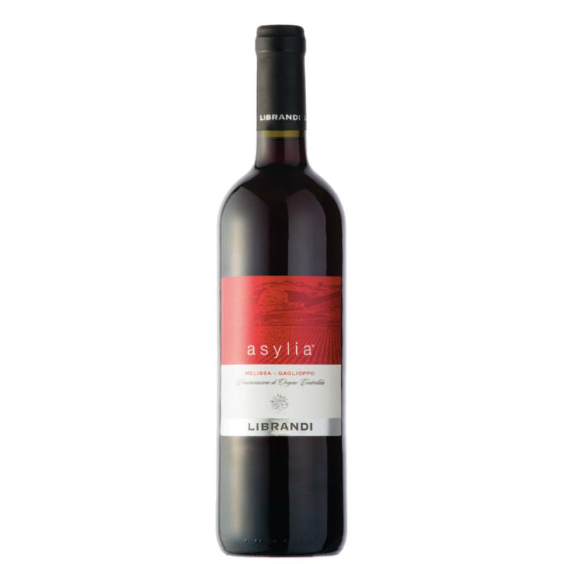 Vino Asylia Rosso DOC Librandi 75 cl - prodotti tipici calabresi - bottega lombardo srl