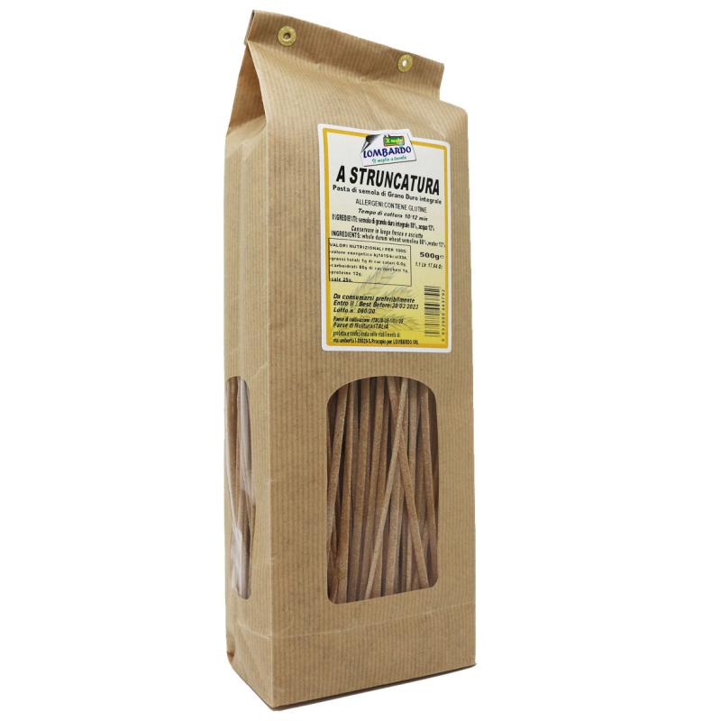 Pasta secca A Stroncatura in sacchetto 500 g Prodoti Tipici Calabresi Bottega Lombardo Srl