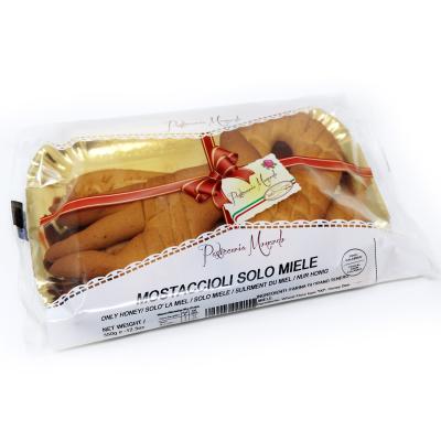 Mostaccioli solo miele 350 g Prodoti Tipici Calabresi Bottega Lombardo Srl