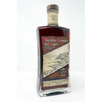 Liquore Vecchio Amaro del Capo Riserva Centenario Anniversario 100 anni Astuccio Prodoti Tipici Calabresi Bottega Lombardo Srl