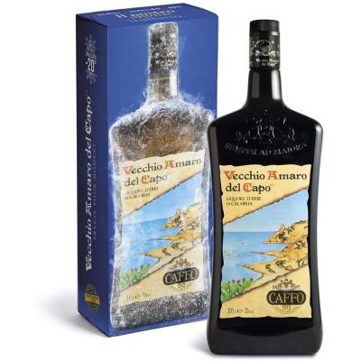 Vecchio Amaro del Capo 3 litri Magnum - Astuccio Prodoti Tipici Calabresi Bottega Lombardo Srl