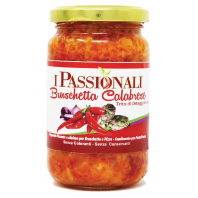 Bruschettata Calabrese con peperoncino cipolla e cuore di carciofi in olio di semi di girasole Prodoti Tipici Calabresi Botte...