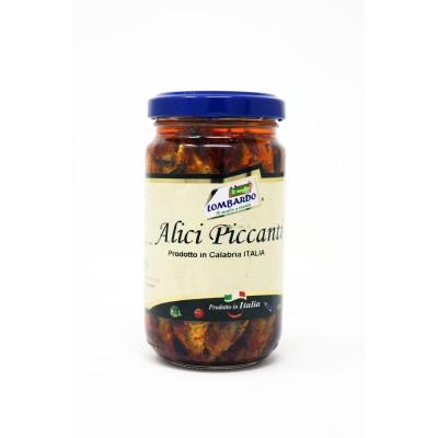 Alici piccanti in vasetto Prodoti Tipici Calabresi Bottega Lombardo Srl