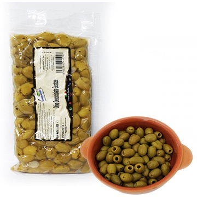 Olive verdi denocciolate Prodoti Tipici Calabresi Bottega Lombardo Srl
