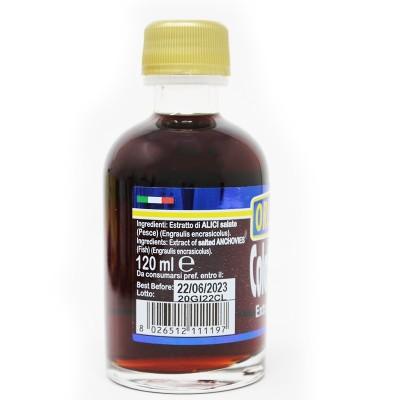 Colatura di Alici bottiglietta vetro 120 ml Prodoti Tipici Calabresi Bottega Lombardo Srl