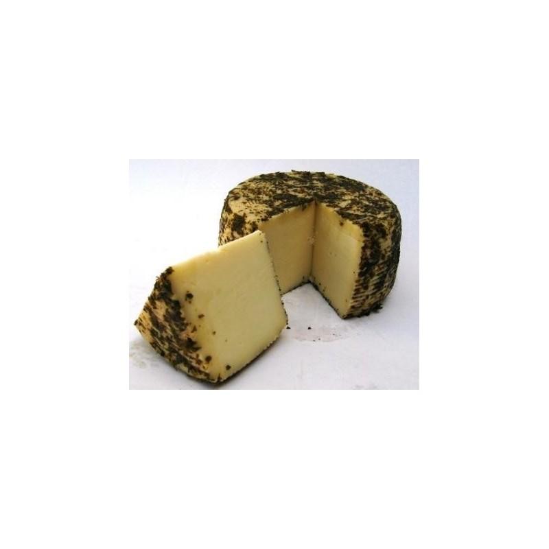 """Formaggio pecorino Calabrese """"Fiore di Melicucco"""" ricoperto con Odori di Calabria - prodotti tipici calabresi - bottega lomba..."""