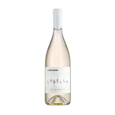 Vino Labella bianco frizzante Librandi Bottiglia da 75 cl Prodoti Tipici Calabresi Bottega Lombardo Srl