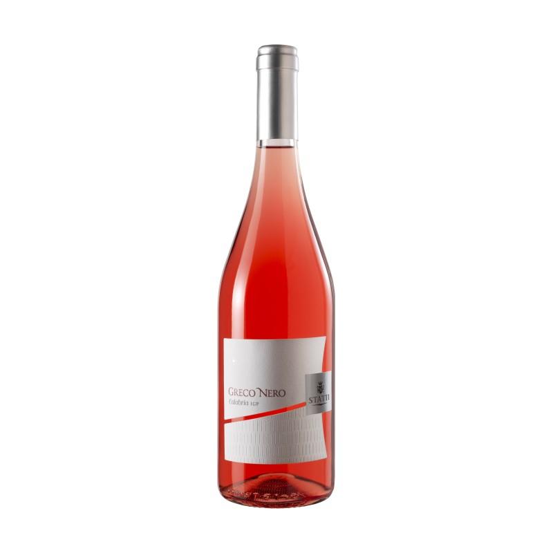 Vino Greco Nero Rosato IGT '18 Statti Bottiglia da 75 cl Prodoti Tipici Calabresi Bottega Lombardo Srl