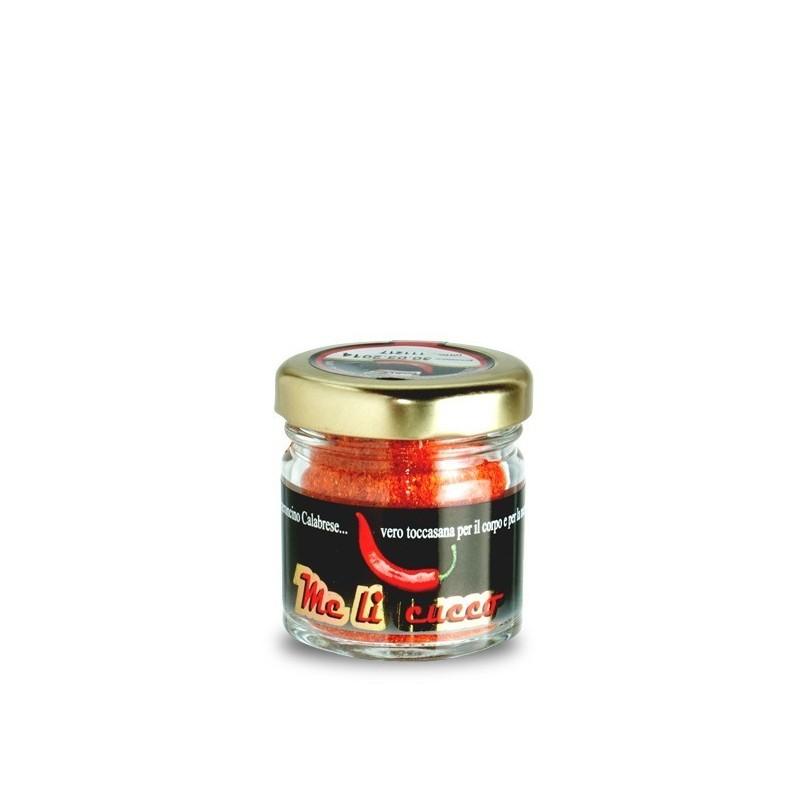 Peperoncino di Calabria Polvere (vasetto) Prodoti Tipici Calabresi Bottega Lombardo Srl