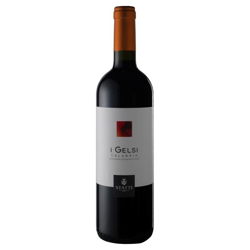 Vino I Gelsi Rosso IGT '18 Statti Bottiglia da 75 cl Prodoti Tipici Calabresi Bottega Lombardo Srl