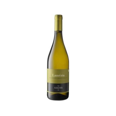Vino Lamezia Bianco DOC IGT '18 Statti Bottiglia da 75 cl Prodoti Tipici Calabresi Bottega Lombardo Srl