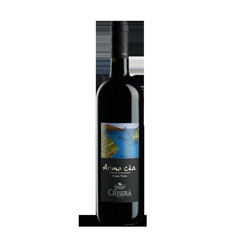 Vino Armacia Rosso IGT Crisera' Bottiglia da 75 cl Prodoti Tipici Calabresi Bottega Lombardo Srl