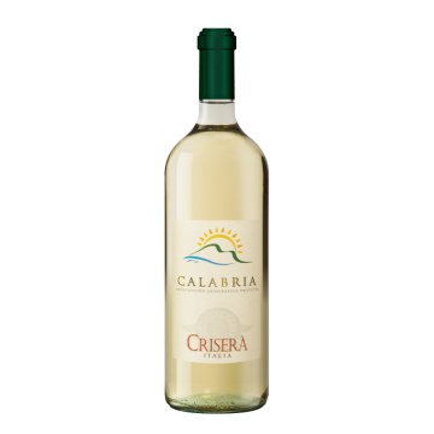 Vino Calabria Bianco IGT Crisera' Bottiglia da 75 cl Prodoti Tipici Calabresi Bottega Lombardo Srl