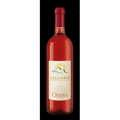 Vino Calabria Rosato IGT Crisera' Bottiglia da 75 cl Prodoti Tipici Calabresi Bottega Lombardo Srl